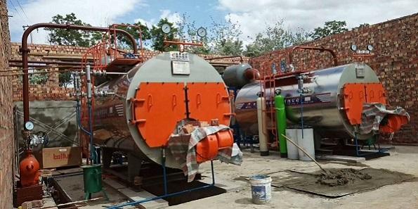 燃天然气卧式蒸汽锅炉