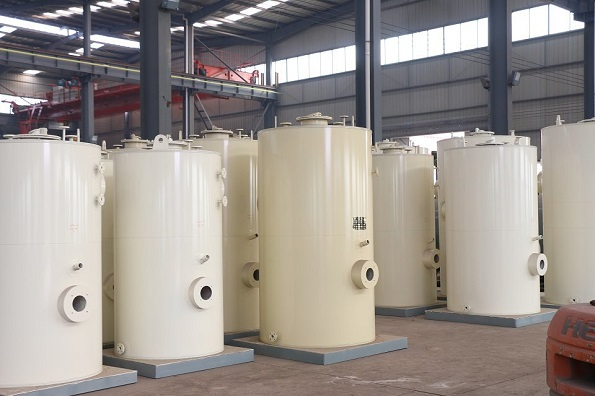 立式燃油气热水锅炉